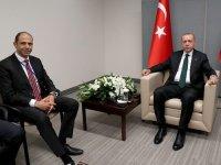 Erdoğan Özersay'ı kabul etti