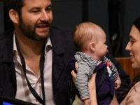 Yeni Zelanda Başbakanı Jacinda Ardern, BM oturumuna 3 aylık oğlu ile katıldı