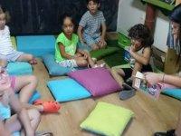 Masalcı Katriye Nene Lefkoşa Khora Kitap Cafe'de Çocuklarla Buluşuyor