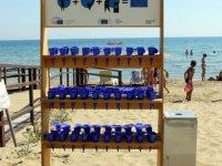 Avrupa Komisyonu İskele Belediyesi'ne plaj küllüğü hibe etti