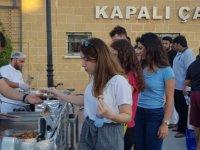 Güzelyurt Belediyesi Oryantasyon Günlerinde Öğrencilere İkramlarda Bulundu