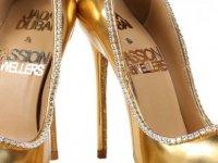 Dünyanın en pahalı ayakkabısı bugün görücüye çıkıyor