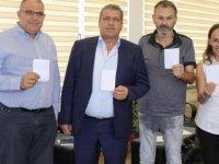 MTG ile NEA Salamina takımları barış ve spor organizasyonunda bir araya geliyor
