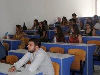 """LAÜ öğrencilerine """"İş Sağlığı ve Güvenliği"""" konulu eğitim semineri düzenlendi"""