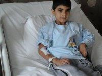 Minik Ali Şenbardak yardımlarımızı bekliyor