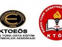 KTOEÖS ve KTÖS bugün Eğitim Bakanlığı'na siyah çelenk koyacak