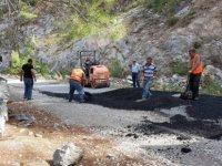 Karayolları Dairesi'nin yollardaki çalışmaları sürüyor