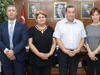 Denktaş, Türk Dünyası Kadın Platformu'nu kabul etti