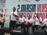 """""""Engelsiz Işıklar Ritim Grubu"""" Mersin'de festivalde"""