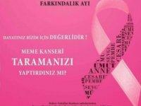 Kıbrıs Vakıflar Bankası, meme kanseri farkındalık ayı kapsamında etkinlik düzenledi