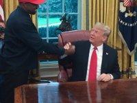 Trump'la görüşen Kanye: MAGA şapkasını taktığımda kendimi Süpermen gibi hissettim