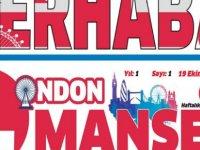 Londra'daki Kıbrıslı Türklere yeni gazete, LONDON MANŞET yayında