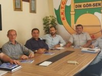 Din Gör-Sen'de başkan yeniden Süleyman Çakır