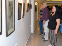 Sanat Merkezi'nde Açılan Feryal Sükan'a Ait Retrospektif Resim Sergisi 28 Ekim'e Kadar Ziyaretçilerini Kabul Ediyor…