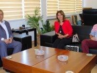 (MHP) Alanya Kadın Kolları Başkanı Sevim Bulut Arter'i ziyaret etti