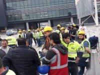 3. havalimanı işçilerinden iş bırakma eylemi