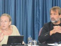Polonyali Diplomat Prof. Dr. Ewa Salkiewicz-Munnerlyn DAÜ'de seminer verdi