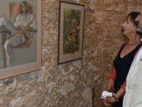 Hessenberg'in resim sergisi açıldı