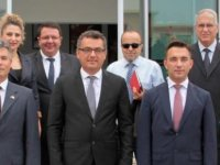 Erhürman Sivil Savunma Teşkilatı Başkanlığını ziyaret etti