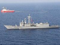 """""""Barbaros ve Türk savaş gemileri Kıbrıs Meb'i sınırlarında"""""""