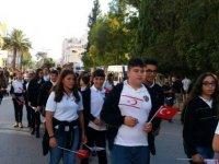 Cumhuriyet Bayramı kutlamaları çerçevesinde yürüyüş ve bando konserleri düzenlendi