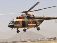 Afganistan'da askeri helikopter düştü: 25 ölü