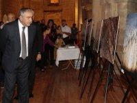 Akıncı, kıfsad fotoğraf sergisinin açılışını yaptı