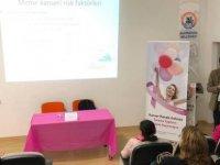 Gazimağusa Maraş'ta Kadınlar Meme Kanseri Konusunda Bilgilendirildi
