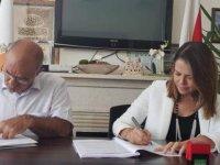 Lefke Belediyesinin yerel ürünlerin tanııtılması projesi sözleşmesi imzalandı