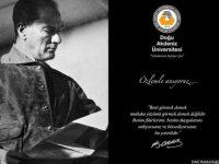 Ulu Önder Mustafa Kemal Atatürk DAÜ'de anılacak