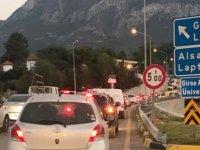 Sürücülerin Dikkatine! Girne'de bazı yollar trafiğe kapandı