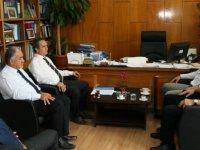 KTAMS, DPÖ Müsteşarı Ödül Muhtaroğlu'nu ziyaret etti