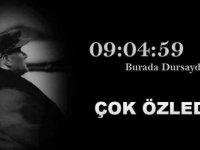 Ulu Önder Mustafa Kemal Atatürk ölümünün 80. yıldönümünde KKTC'de törenlerle anılacak