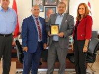 Namık Kemal Lisesi Müdürü ve Okul Aile Birliği Arter'i ziyaret etti