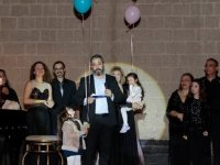 Cumhurbaşkanı Akıncı, eşiyle birlikte Concerts Wıthout Borders'in konserine katıldı