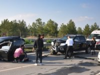 Lefkoşa'da trafik kazası: 1 kişi yaralandı