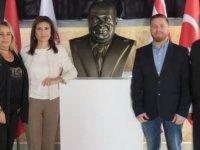 Güliz Kaner, Rauf Denktaş Üniversitesi'ni ziyaret etti