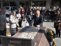 Gazeteci Kemal Aşık, ölümünün 29. YIL dönümünde anıldı