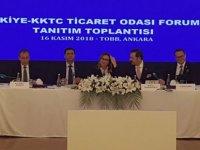 """Pekcan: """"Türk Eximbank'ın kapıları KKTC'li ihracatçılarımıza açıktır"""""""