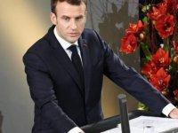 """Macron'dan Berlin'de """"güçlü Avrupa"""" çağrısı"""