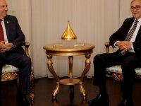 Cumhurbaşkanı Akıncı UBP Genel Başkanı Tatar'ı kabul etti