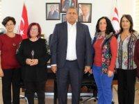 25 Kasım Organizasyon Komitesi Arter'i ziyaret etti