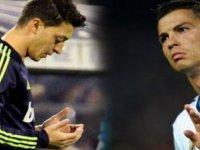 Ronaldo'dan Mesut Özil kızgınlığı