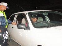 Gazimağusa'da trafik ve asayiş operasyonu...