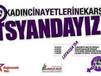 Kadına yönelik şiddet, 25 Kasım'da eylemlerle protesto edilecek
