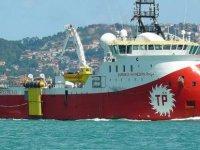 Barbaros'un savaş gemileri eşliğinde 4. parsel'e girdiği iddia edildi
