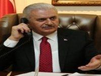 Yıldırım'dan UBP Genel Başkanı Tatar'a tebrik telefonu