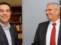 Kiprianu dün Atina'da Çipras'la görüştü