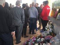 Kıbrıs Türk futbolunun efsane ismi Sevim Ebeoğlu son yolculuğuna uğurlandı