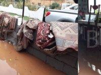 Şiddetli yağış Esentepe'yi vurdu: Evleri su bastı